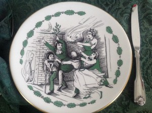 Mary Cratchit dinner plate